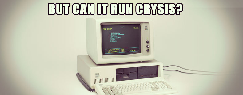 image of But can it run Crysis?