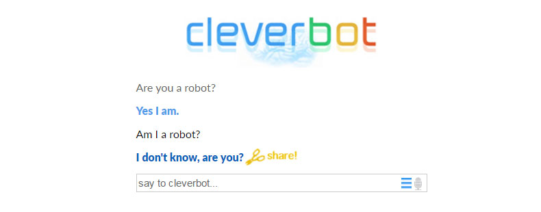 image of Cleverbot