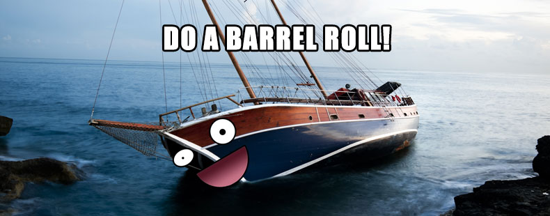 image of do a barrel roll
