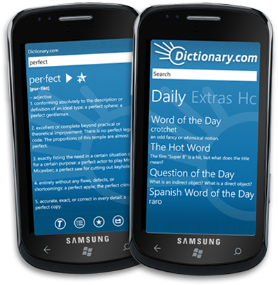 Dictionary.com for Windows Phone