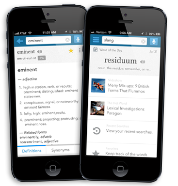 Dictionary.com for iPhone