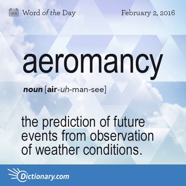 Aeromancy word of the day for Portent meaning in english