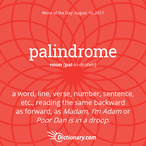 palindrome essay Essays palindromes this is the complete list of palindromes-z palindromes are words or phrases that read the same in both directions, eg eye, or racecar.